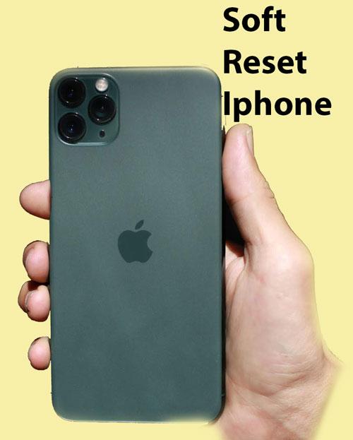 Soft Reset Iphone