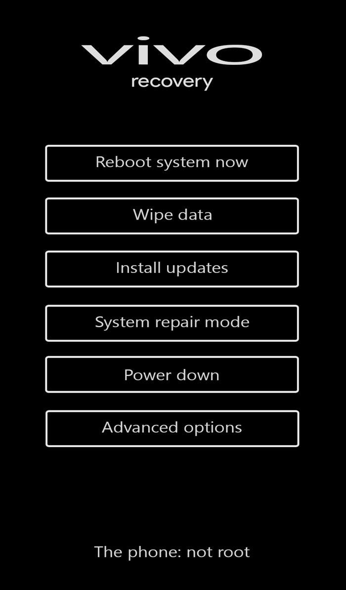 fastboot mode Vivo Y53
