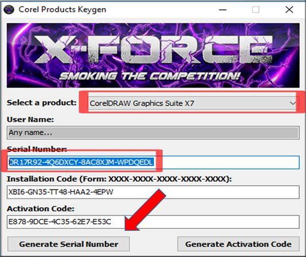 Generate Activation Code