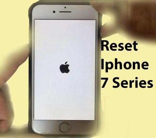 Reset Iphone 7 Series