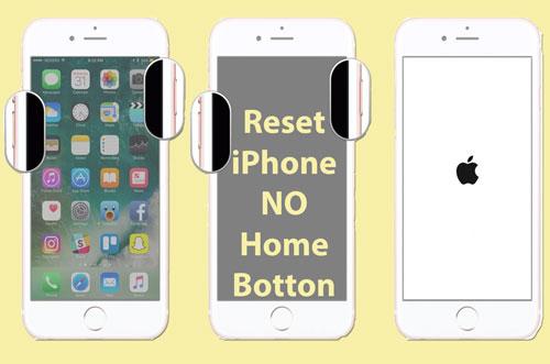 Reset iPhone yang tidak memiliki Home botton