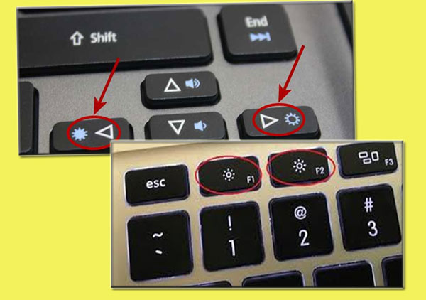 Brightness Di Keyboard