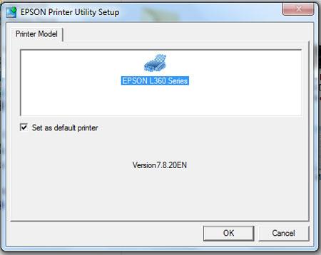 Install Ulang Epson L360