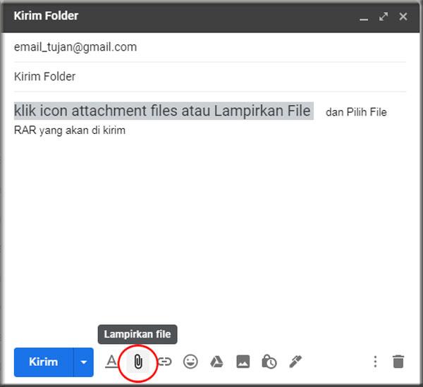 Lampirkan File
