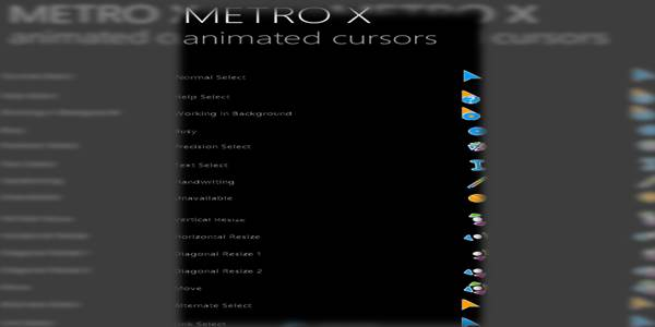 Metro X Cursor