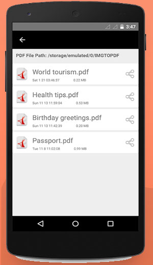 PDF Converter Android