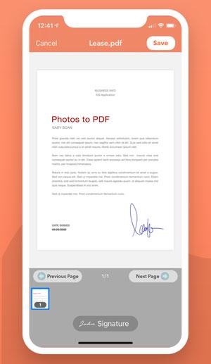 PDF Scanner Converter
