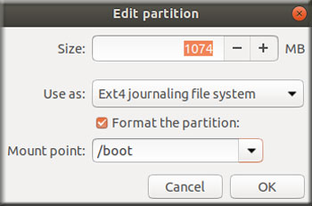 Partition Root