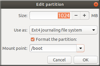 Partition Boot