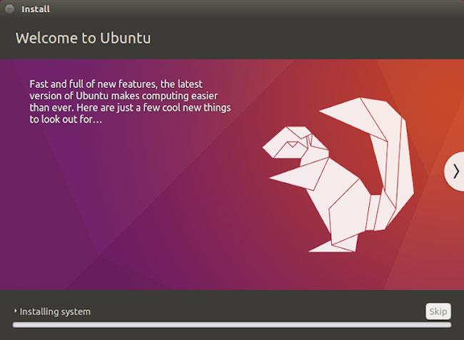 Proses Installation Ubuntu