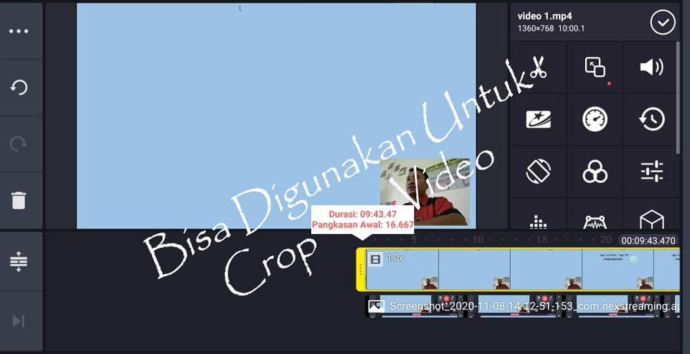Bisa Digunakan Untuk Crop Video