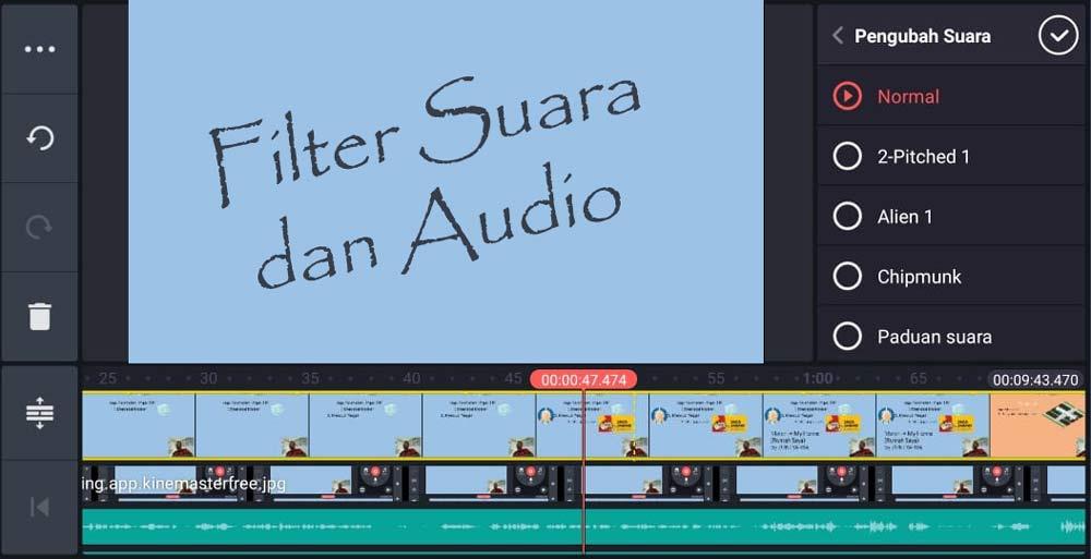 Filter Suara dan Audio