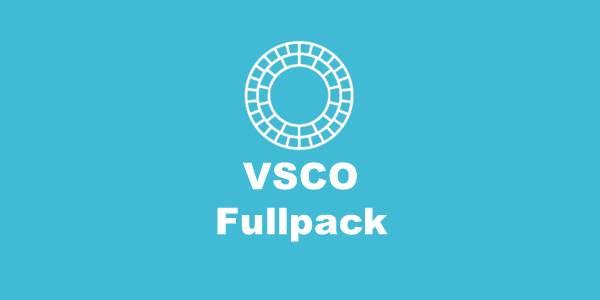 VSCO Fullpack
