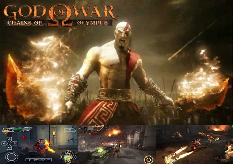 God of War Chains of Olympus 4th Series